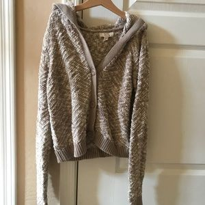 Sun & Shadow Cropped Sweater Size S